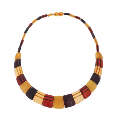 Amber Necklace Smile