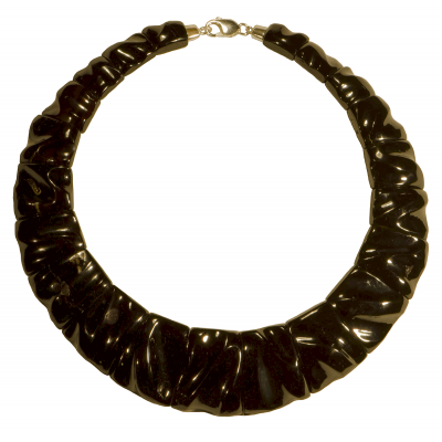 Black Cleopatra Amber Necklace
