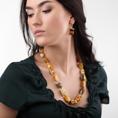 Amber Necklace Dalmantine