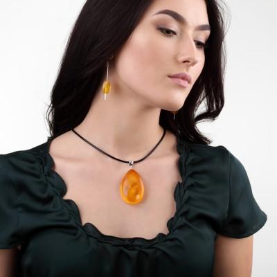 Serenity Amber Pendant