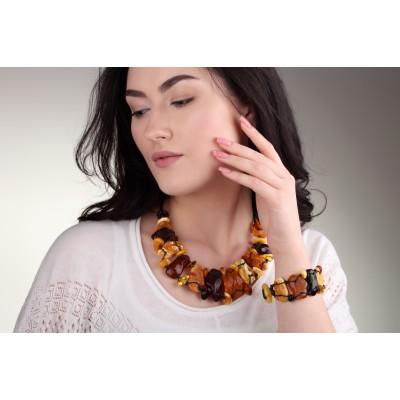 Flintstone Junior Amber Bracelet