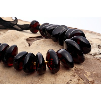 Black Princess Amber Necklace