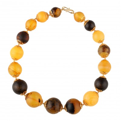 Balls Amber Necklace
