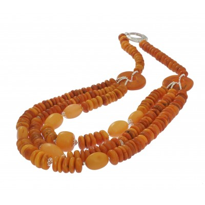 Tibetan Amber Necklace