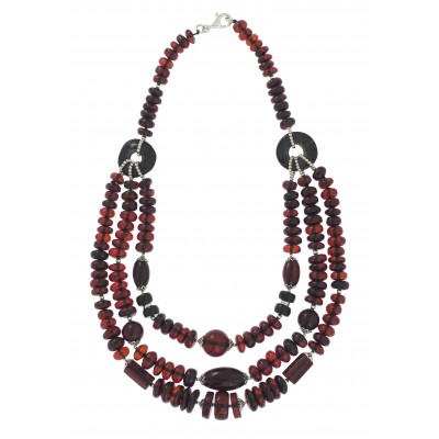 Milagra Amber Necklace