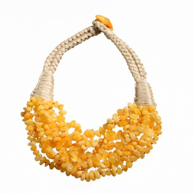 Very Blond Amber Necklace