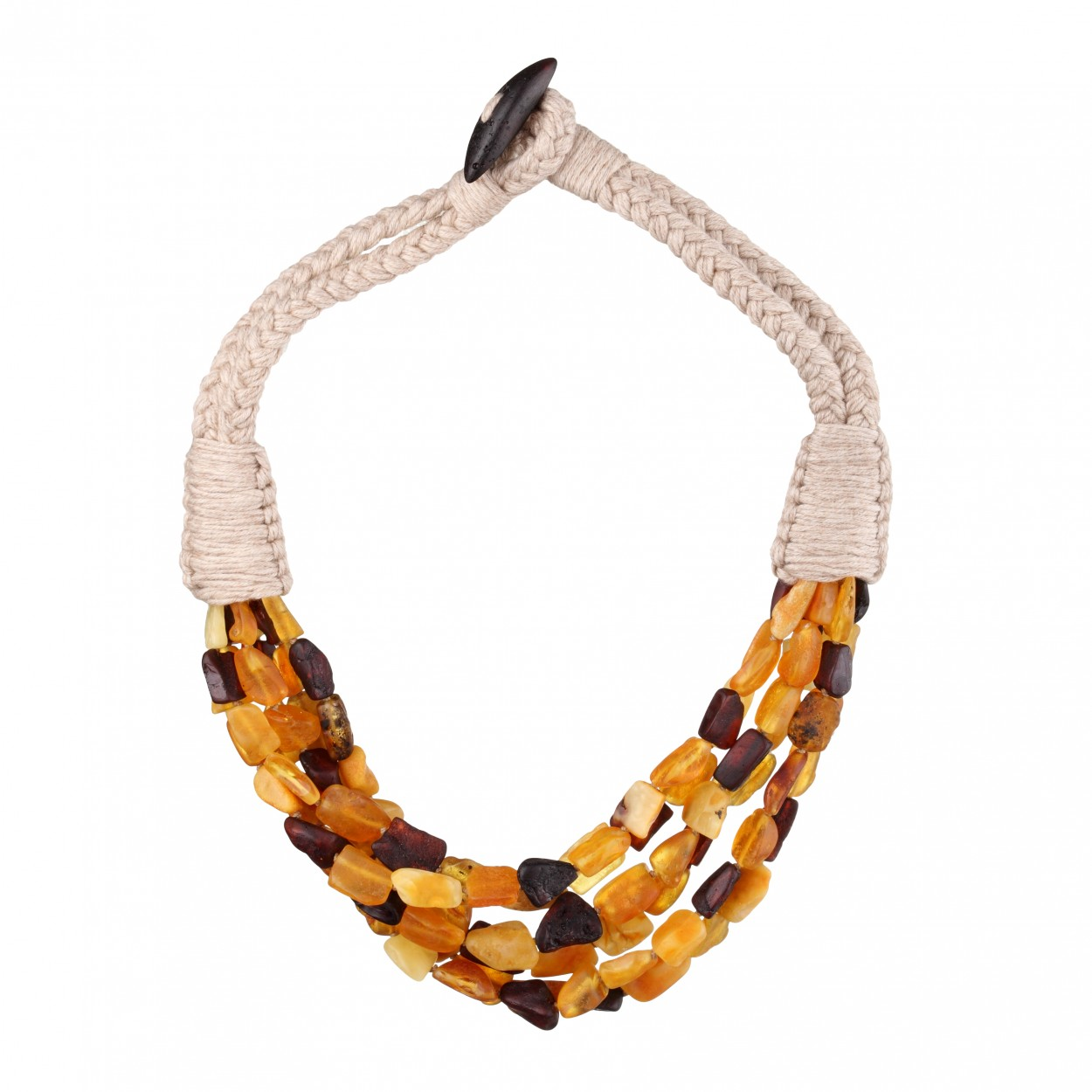 Summer Amber Necklace