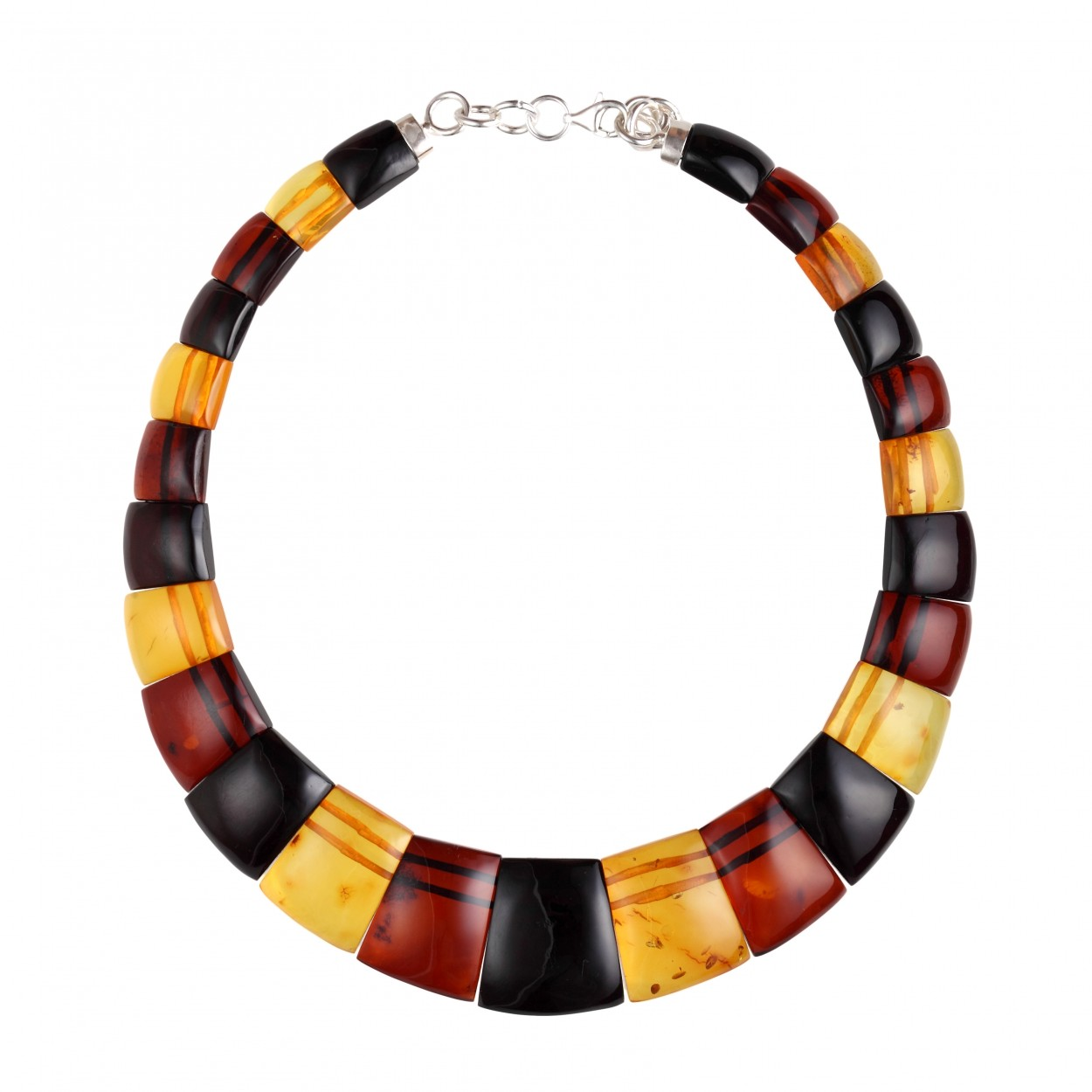 Modern Cleopatra Amber Necklace