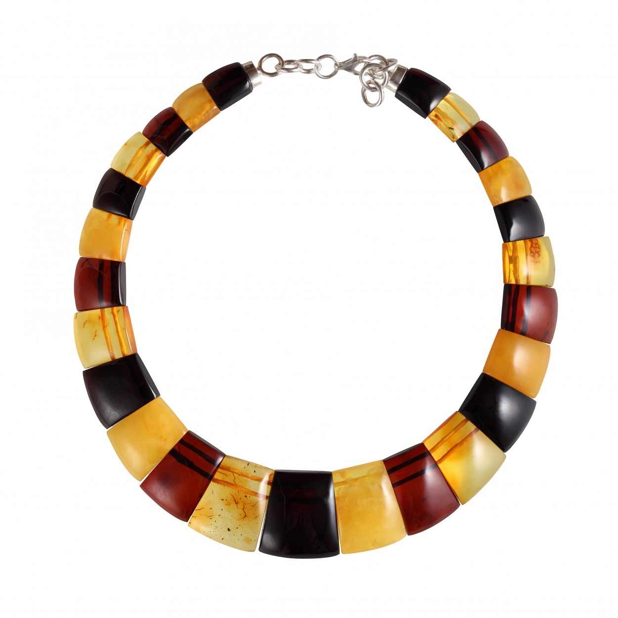 Honey Cleopatra Amber Necklace