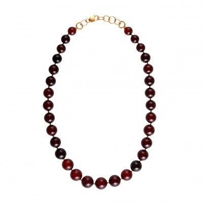 Classical Beads Amber Necklace