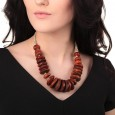 Tibet Style Amber Necklace