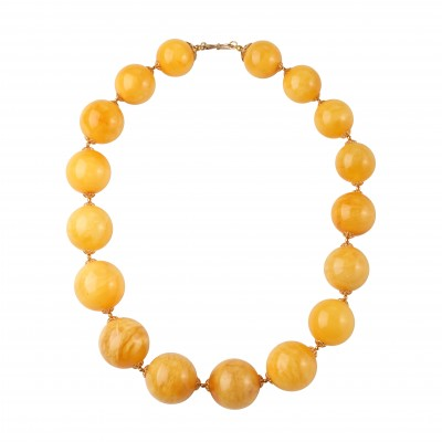 Amber Necklace Royal Beads