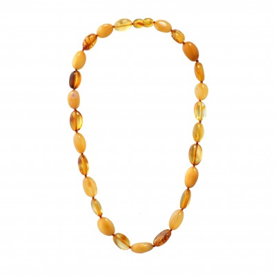 Just Yellow Amber Necklace