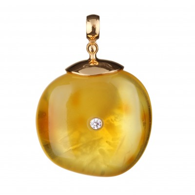 Sunshine Amber Pendant