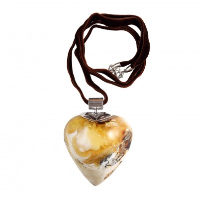 Love of Universe Amber Pendant