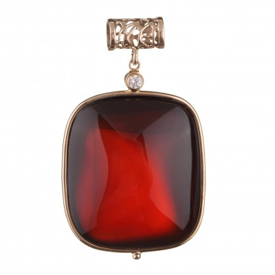 Noble Amber Pendant
