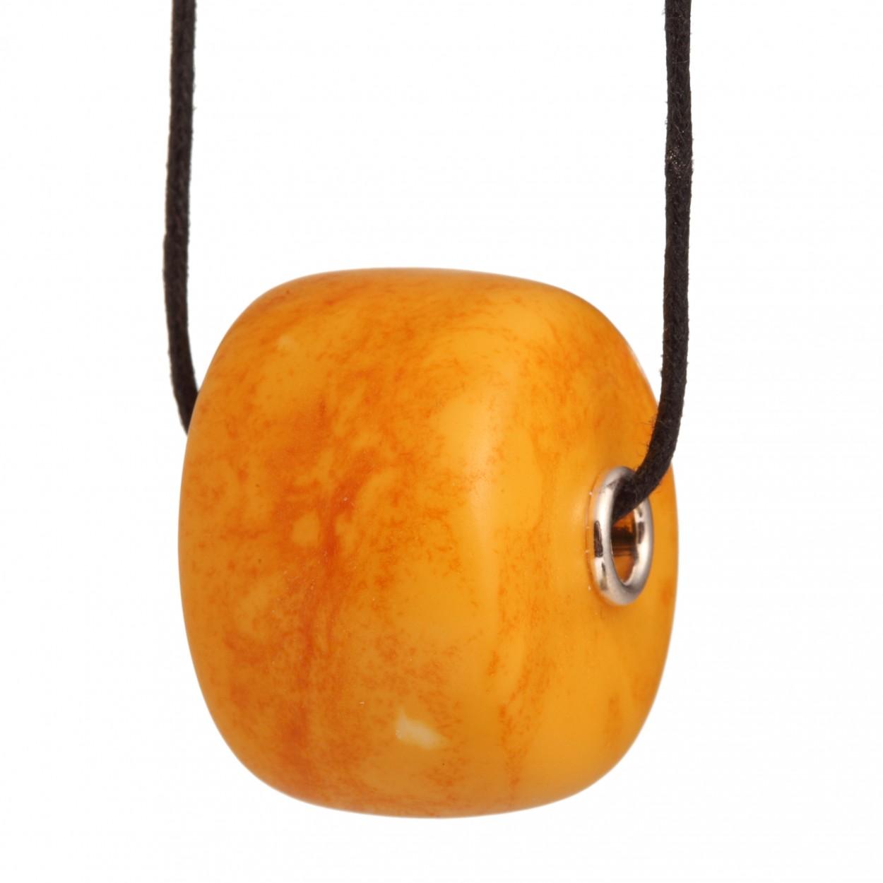 Donut Amber Pendant
