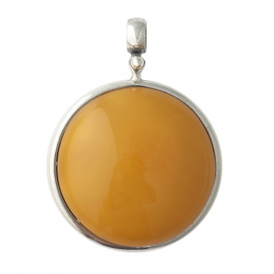 Amber Pendant Visible