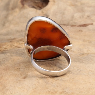 Amber Ring Antique