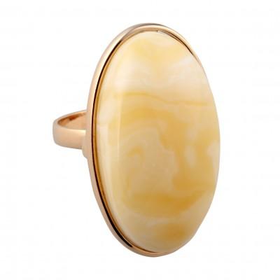 Milk Amber Ring