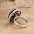 Plain Amber Ring