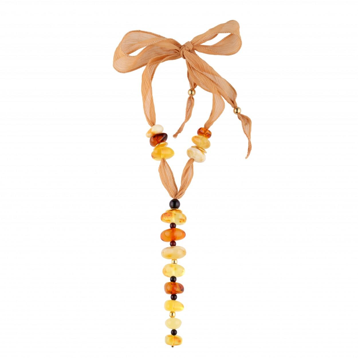 Bonbon Amber Necklace