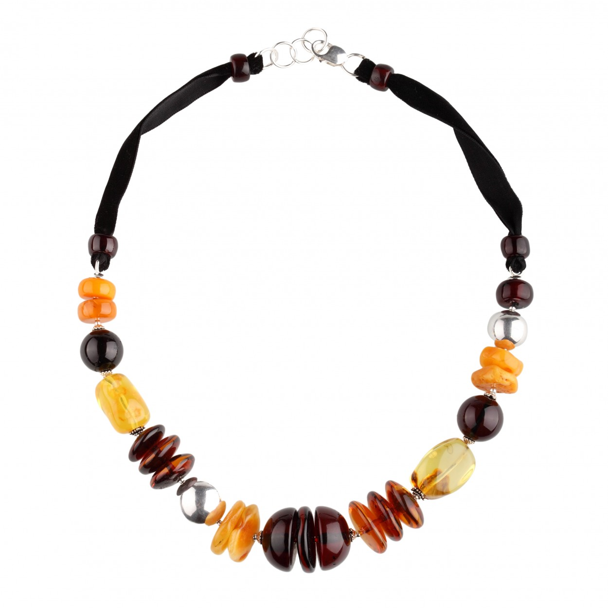 Silver Age Amber Necklace