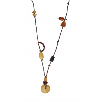 Easy Day Amber Necklace
