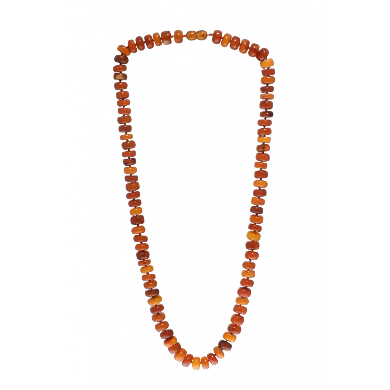 Amber Necklace Orange Play